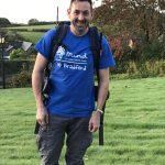 Paul Hogg on the walk
